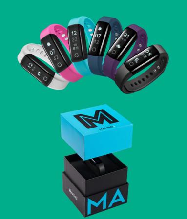 乐心智能手环测心率防水计步器安卓苹果男女蓝牙运动手表mambo2代